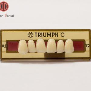 Răng nhựa tháo lắp Triumph C