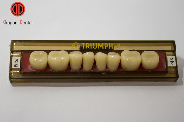 Răng nhựa tháo lắp Triumph 4